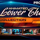 Animated Lower Thirds - کلیپ ویدئویی تایتل و زیرنویس