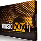 Music Box - جعبه ابزار ساخت موزیک زمینه