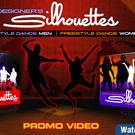 Motion Designers Silhouettes - کلیپ های ویدئویی انسان متحرک سیاه و سفید