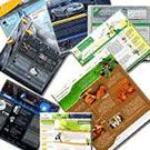 طرح های لایه باز وب سایت تمپلیت