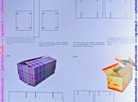 بیش از 1000 طرح لایه باز وکتور ایلوستریتور (EPS) و ( AI ) مربوط به خط تا و خط برش انواع جعبه و بسته بندی